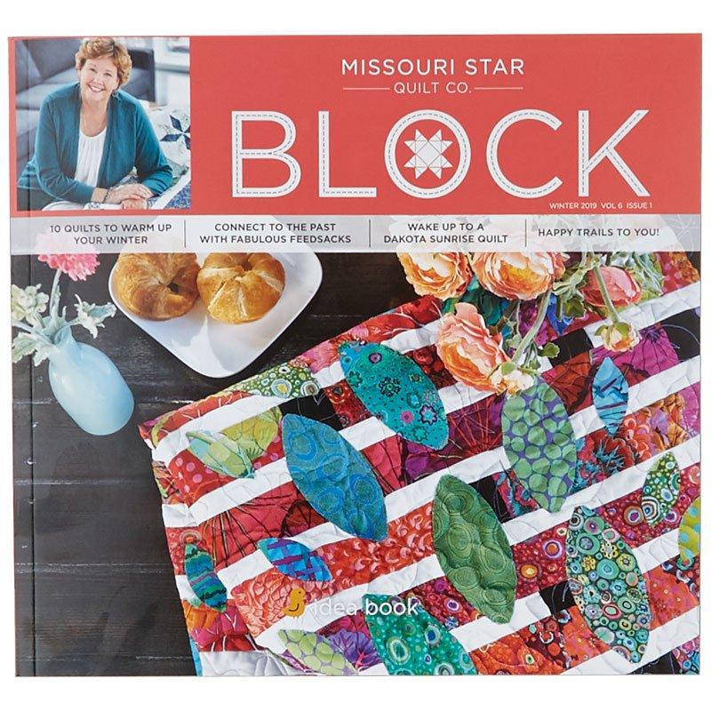 Block Magazine winter 2019 by missouri star
