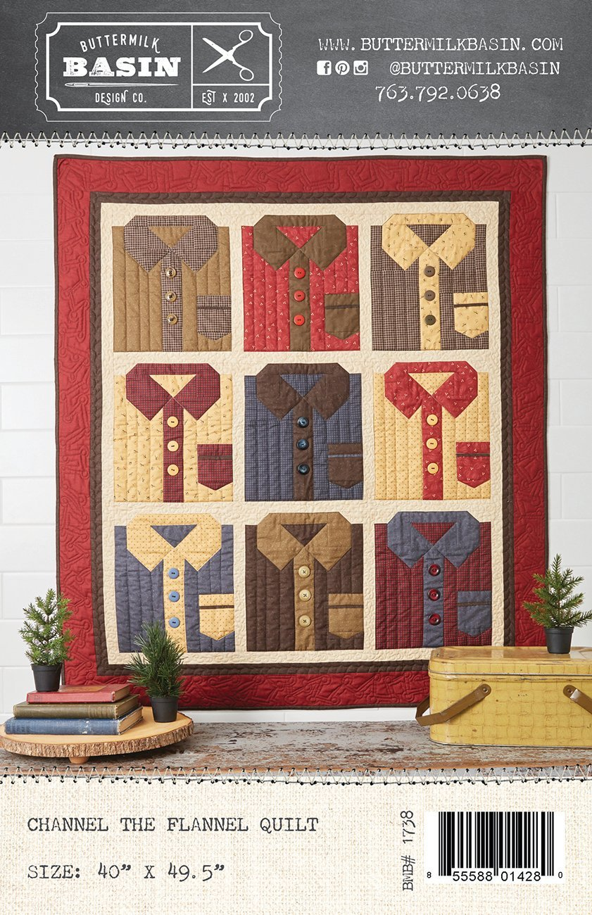 Channel the Flannel Quilt *Pattern