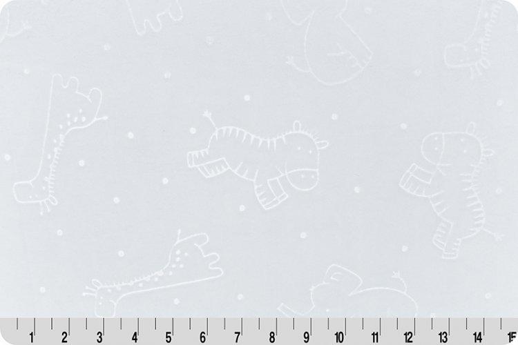 Embossed Safari Spa Cuddle® Snow