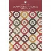 Disappearing  Pinwheel Shoofly pattern