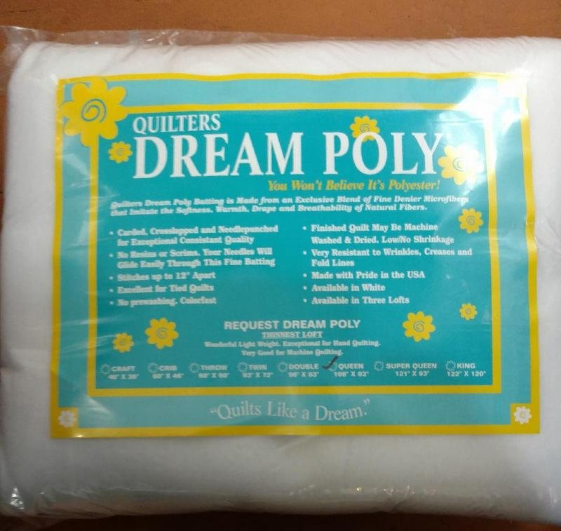 Quilters Dream Poly Request dream poly Queen 108 x 93