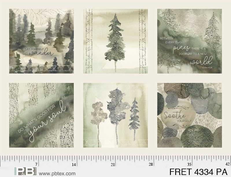 Forest Retreat Panel
