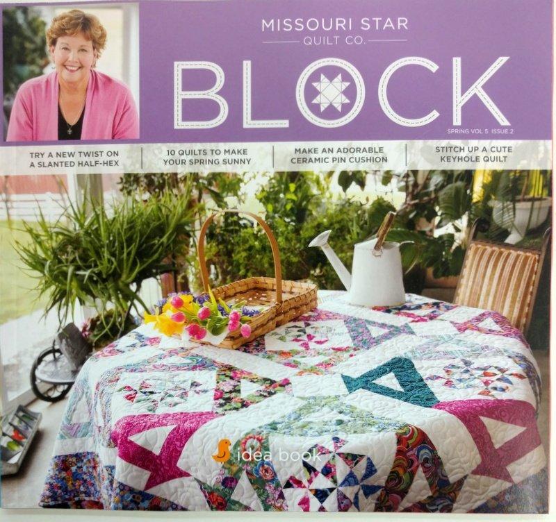 Block Magazine by missouri star vol 5 issue 2 2018