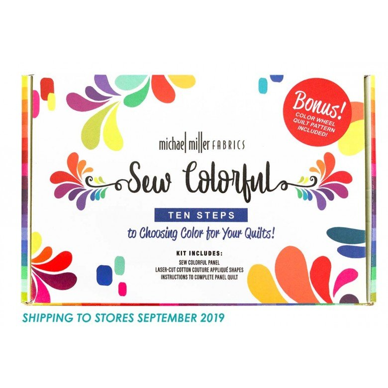 Sew Colorful Quilt Kit by Michael Miller Fabrics