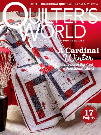 quilter's world winter 2015