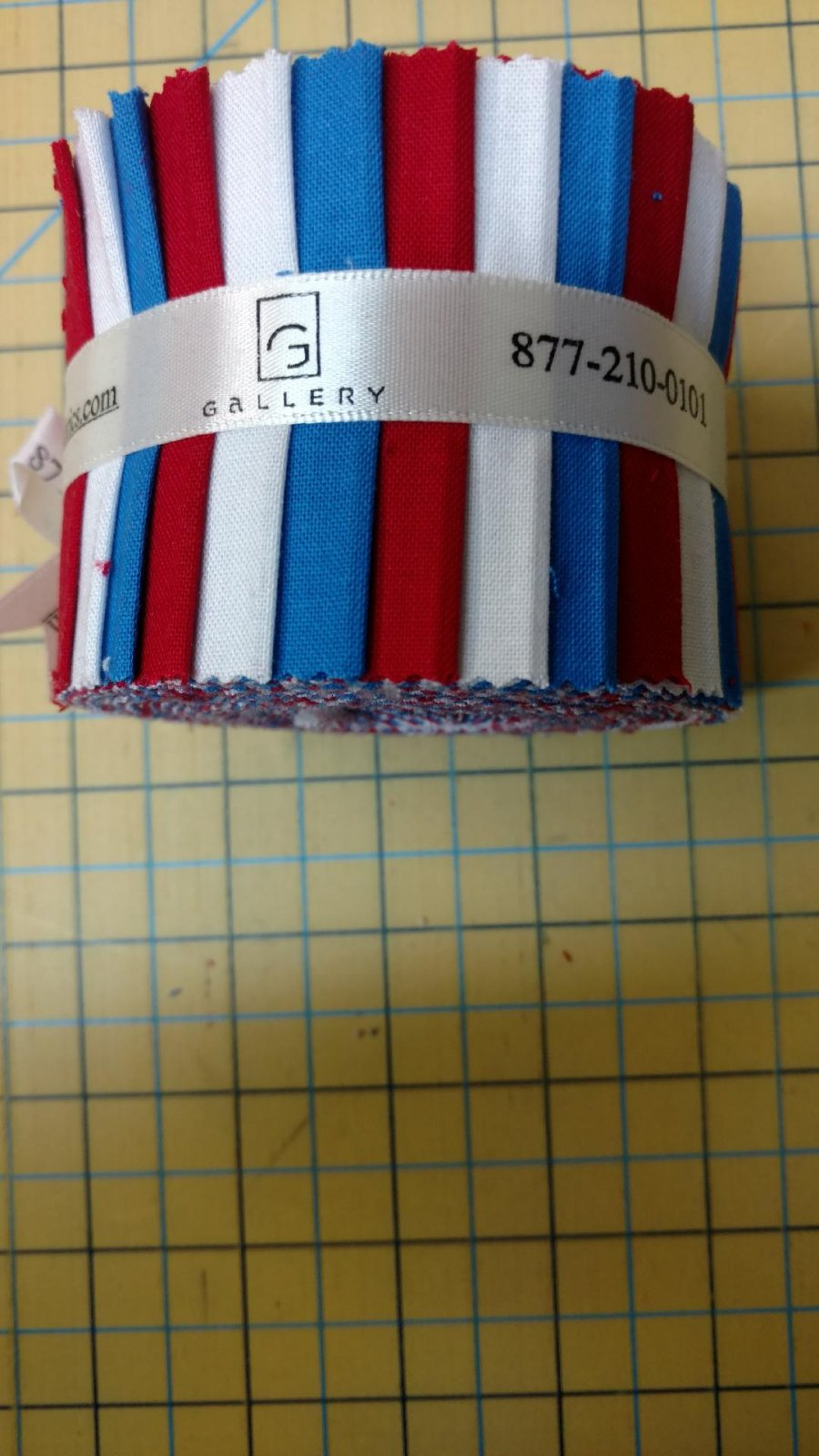 Red White and Blue Gallery Roll