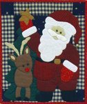 Santa Wall Hanging Kit