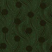 Shades apart by Thimbleberries - Dk Green/circles