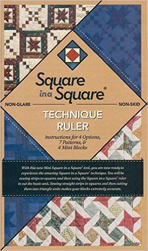 Square in a Square technique ruler