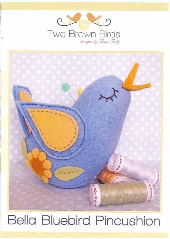 Bella Bluebird Pincushion