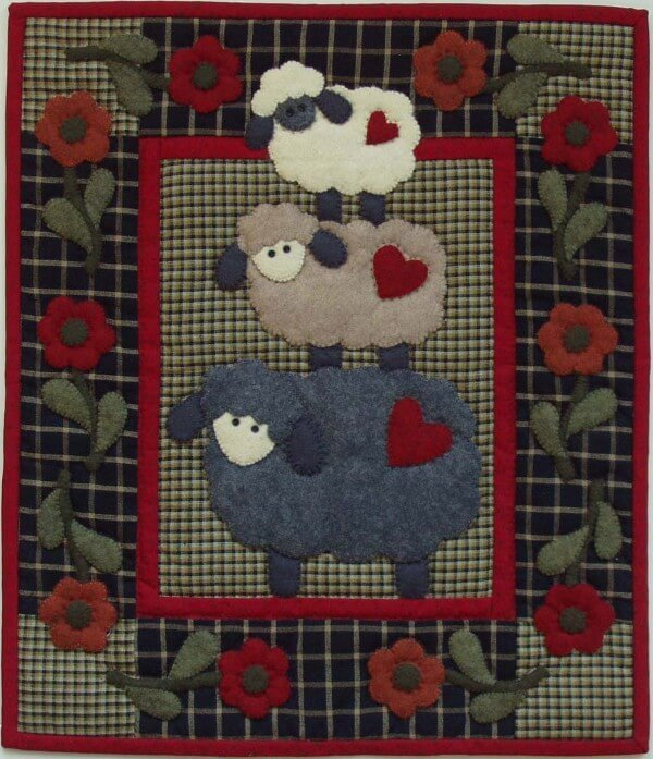 Woolly Sheep Quilt Kit