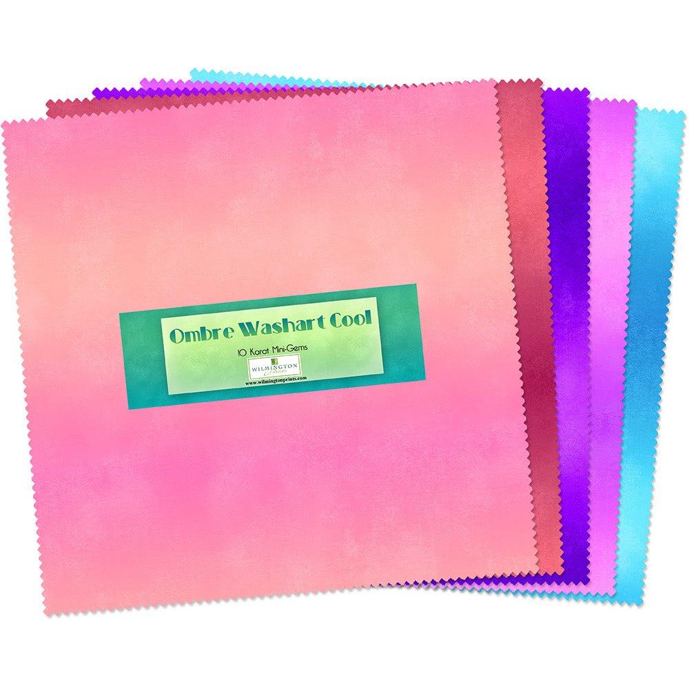 Ombre WashArt Cool 10 inch square Karat Gems 24
