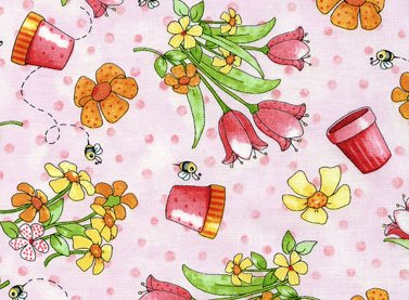 Lil Miss Cutie Patootie Springtime Tossed Tulips