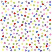 Lazy Little Ladybugs Dot Fabric