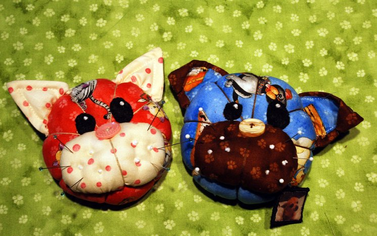 Pincushion Pets Free E-Pattern download
