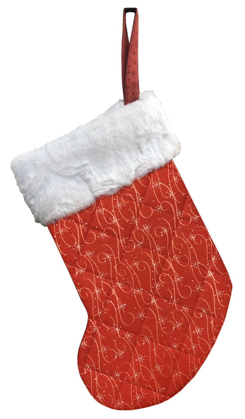 ITH Lined Christmas Stocking download- (GP-110-DDE-E)