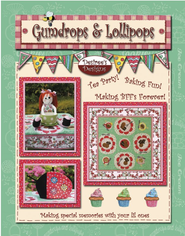 Gumdrops and Lollipops Quilt Book