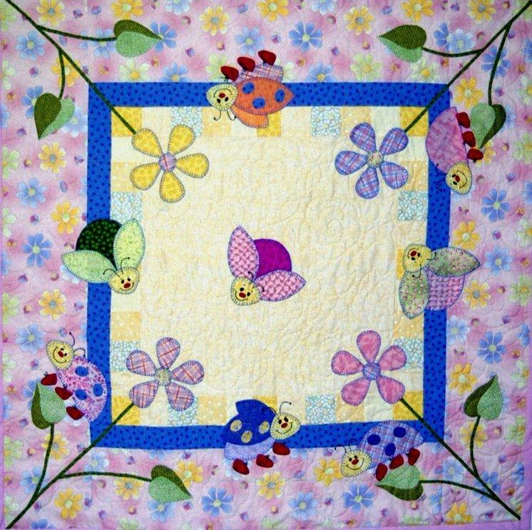 Ladybug Gardens E-pattern