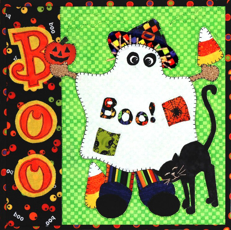 Boo Scare-crow Holiday Series E-Pattern