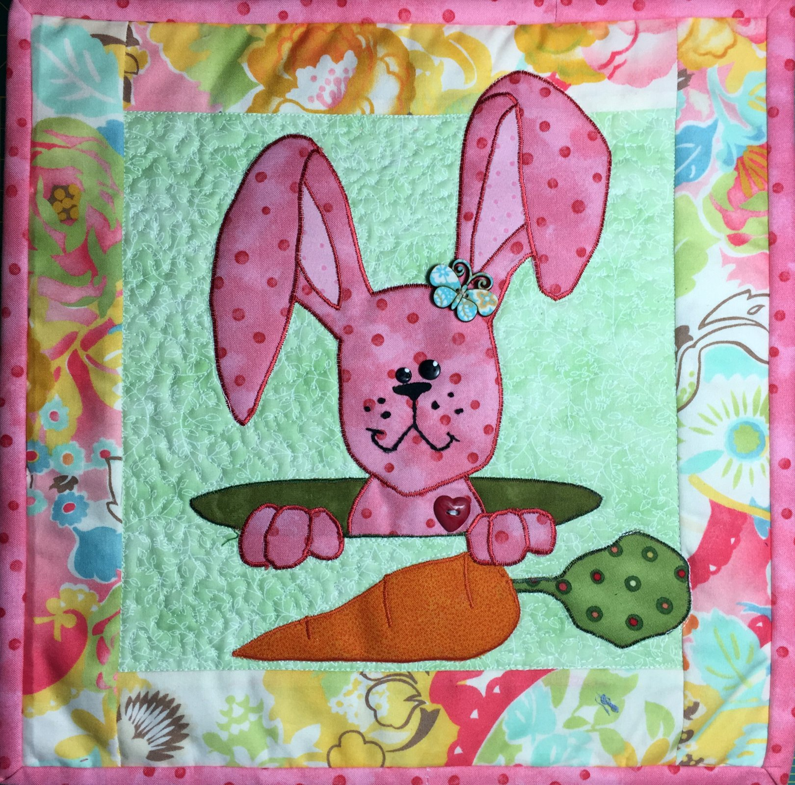 Easter Bunny Quiltlet E-pattern only
