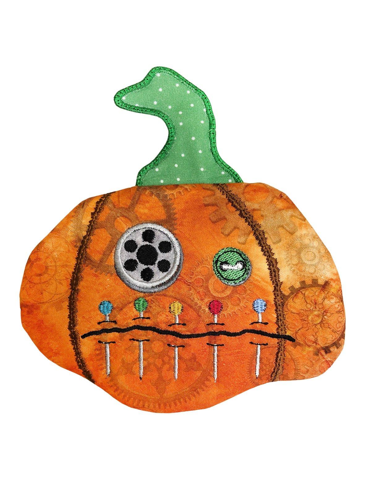 Steampunk Pinhead Pumpkin Pouch Download only- (HQH-06-DDE-E)