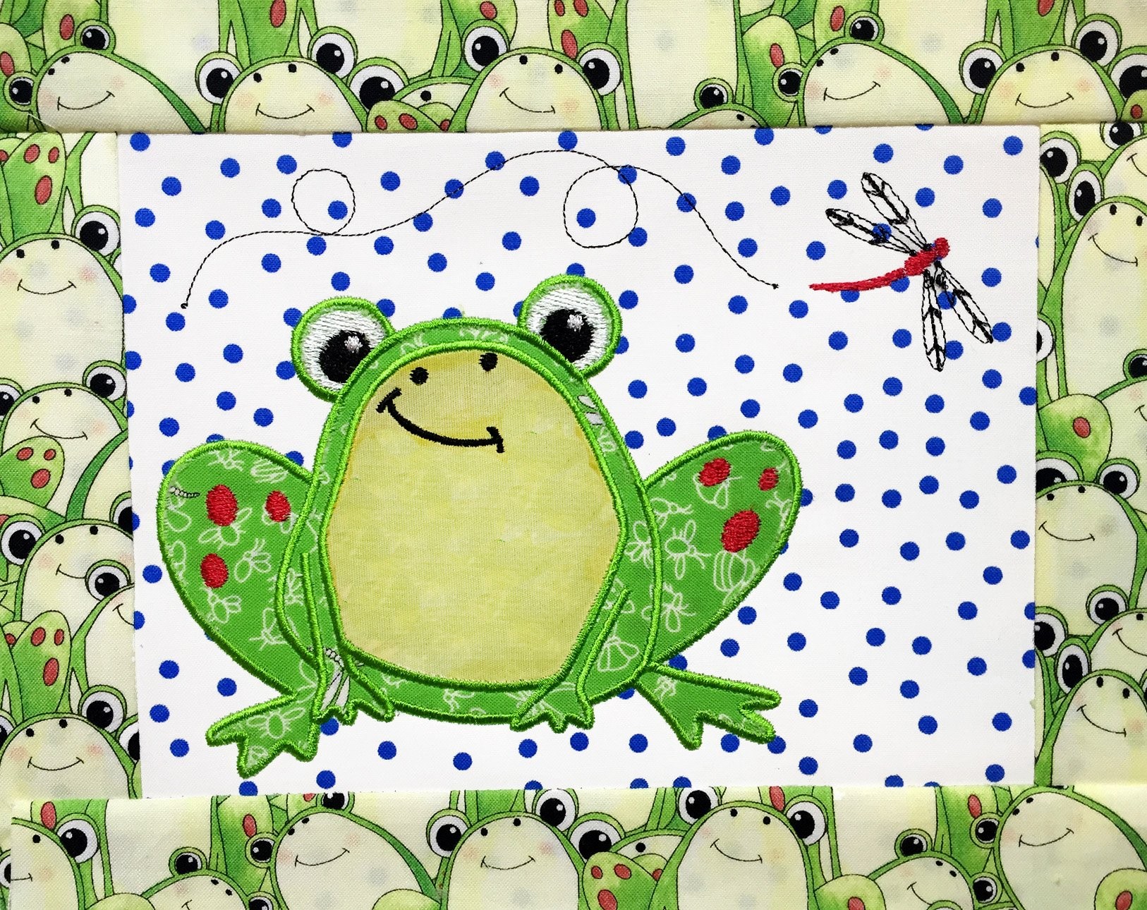 Tasty Tidbits Frog Mug Rug E-Pattern only