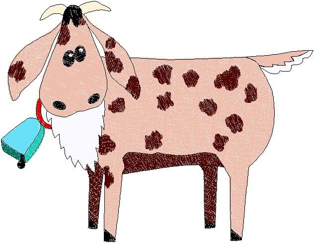 Patchwork Farms Goat Embroidery Download (ED-03-E8)