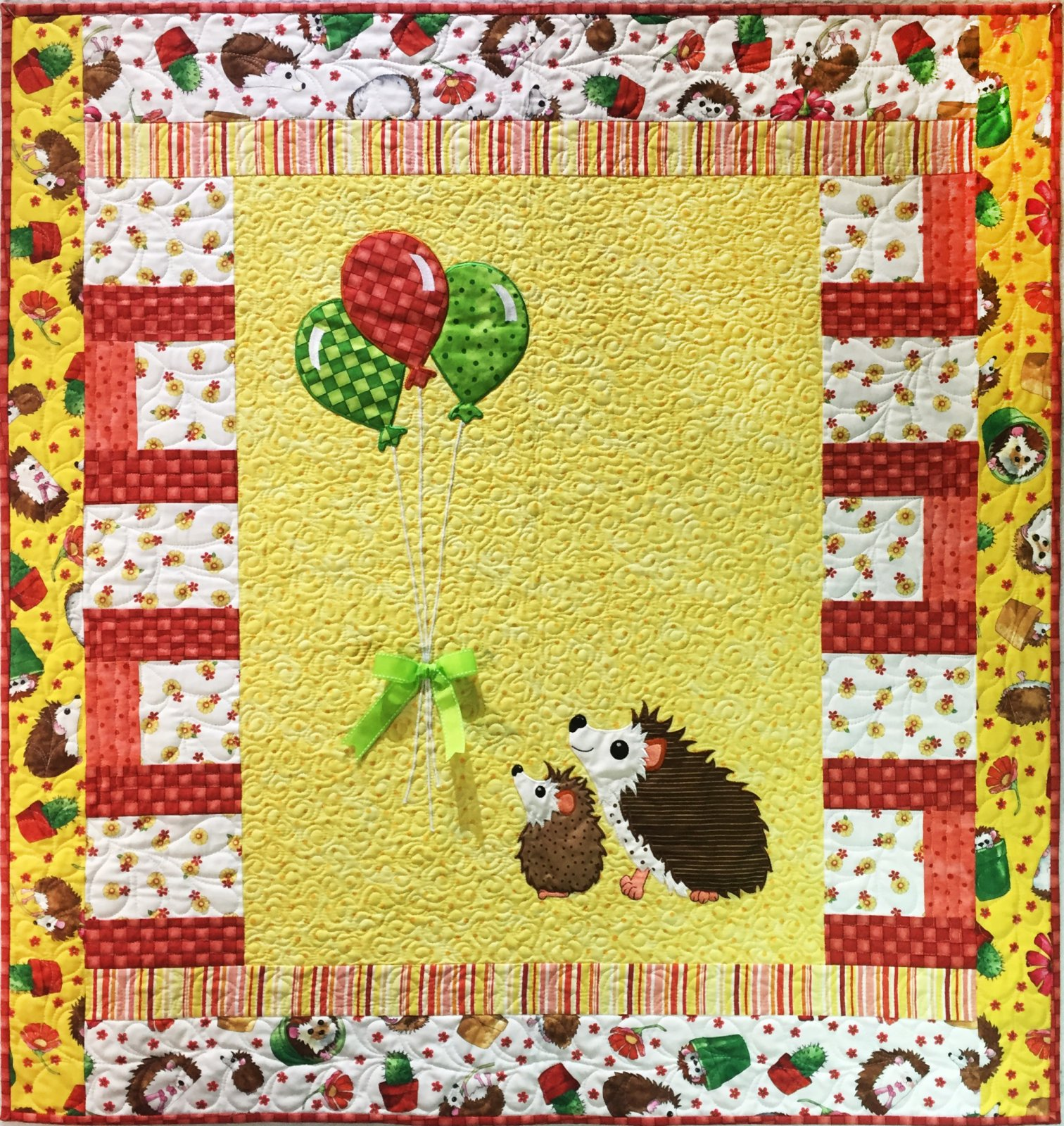 Up Up and Away Applique Quilt Pattern (BQ-13)