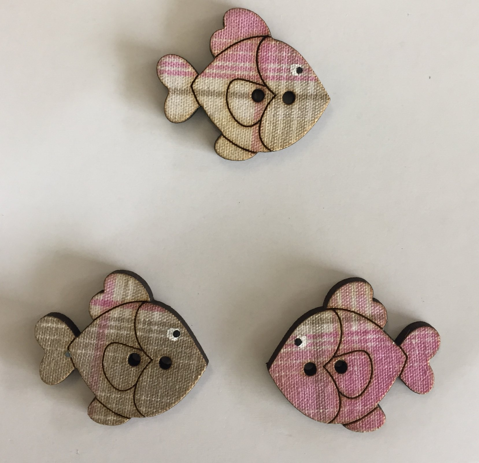 Fish Buttons