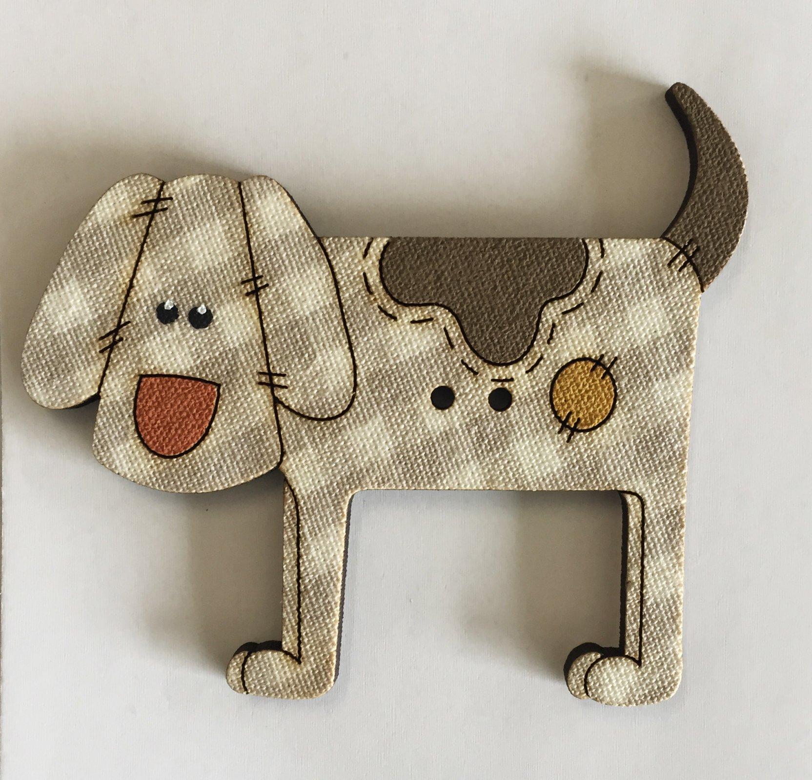 Large Dog Button  (BP-01D)