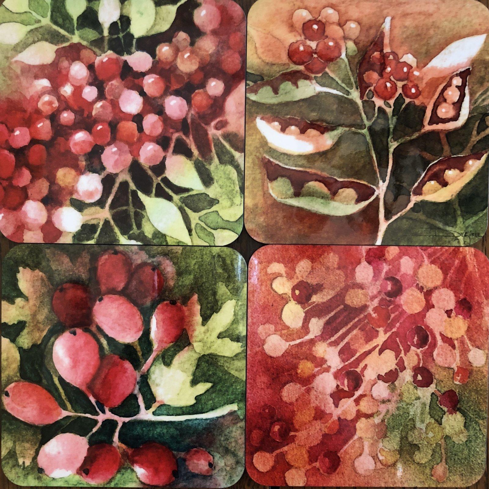 Art Coasters-Berries