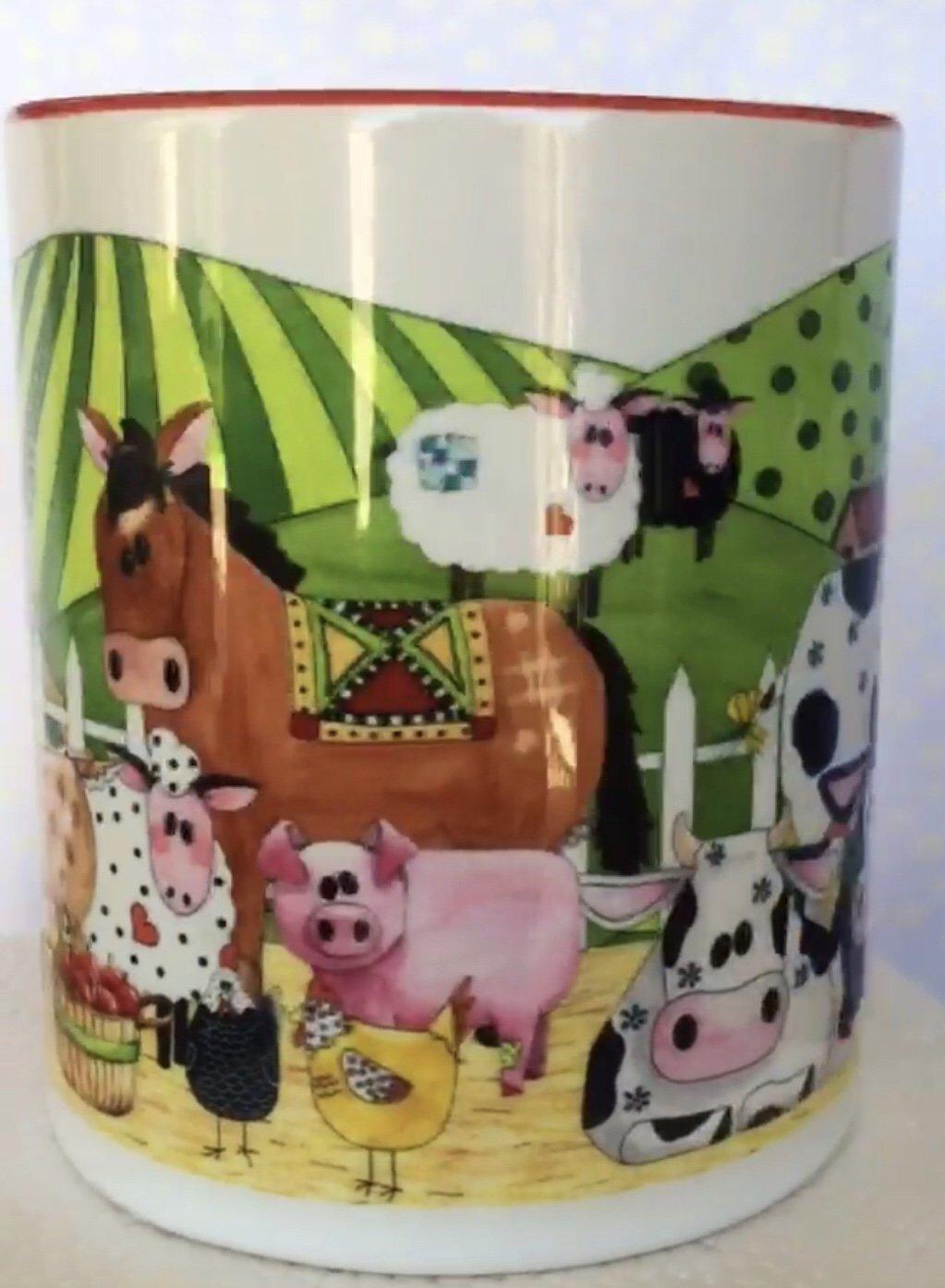 Patchwork Farms Coffee Cup (QA-02PF)