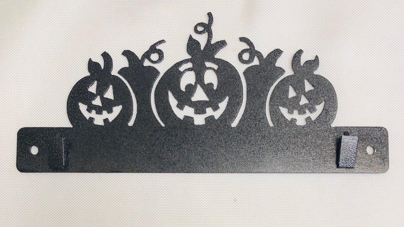 10 Pumpkin Mug Rug hanger (QA-28)