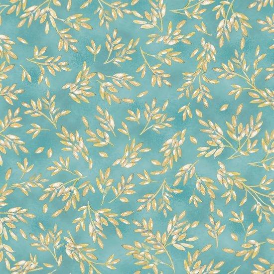 Kaleidoscope of Wheat Quilt Fabric