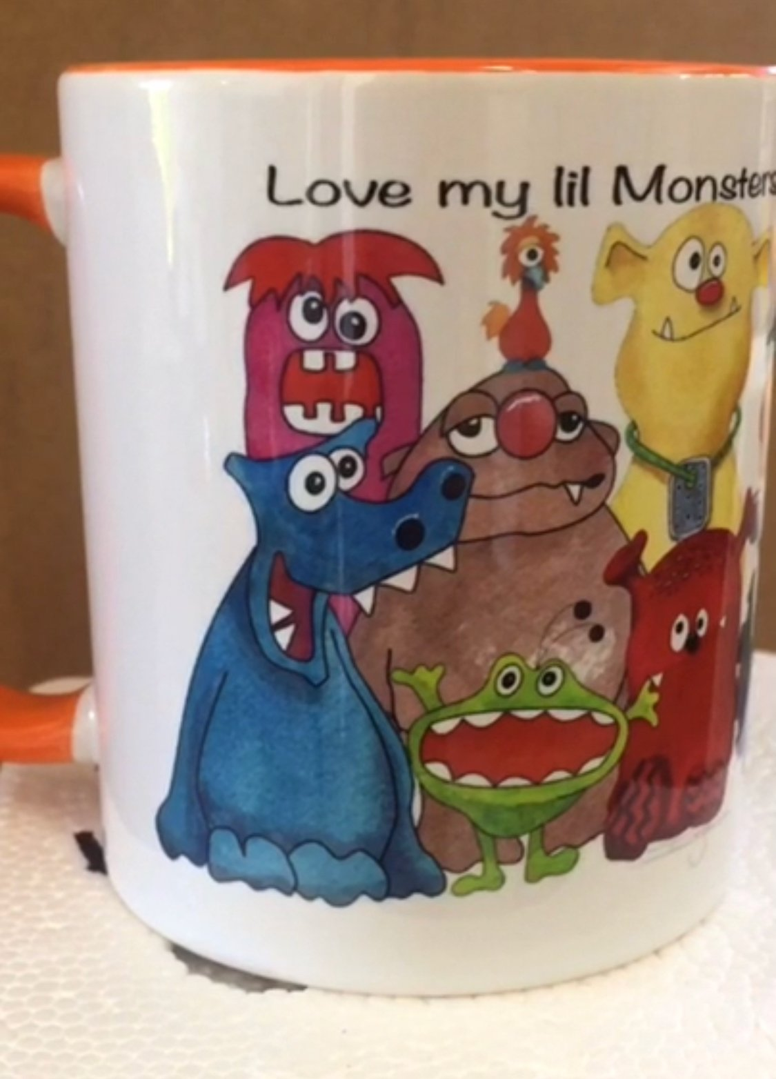 Monsters Mania Cup- ( QA-02M)
