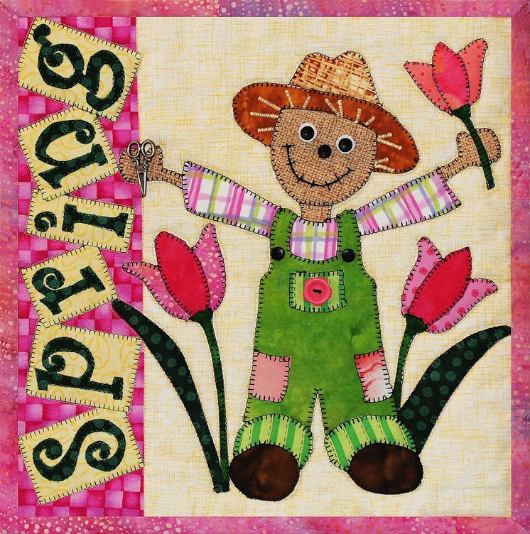Spring Fever Scarecrow Series