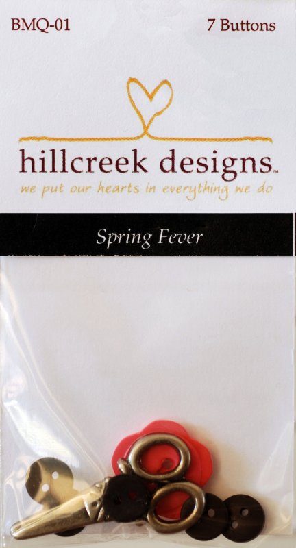 Button Pack for Spring Fever