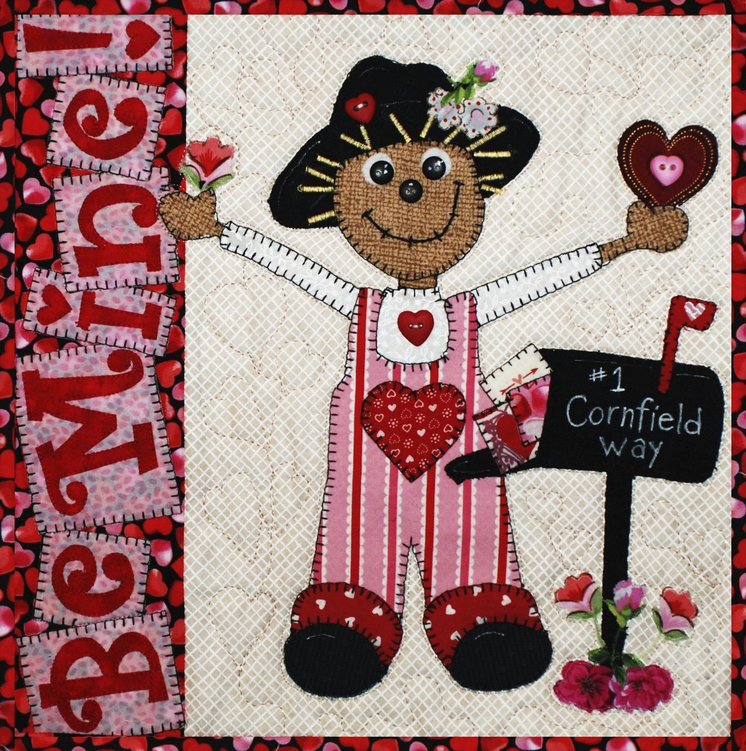 Be Mine- Scarecrow Holiday Series