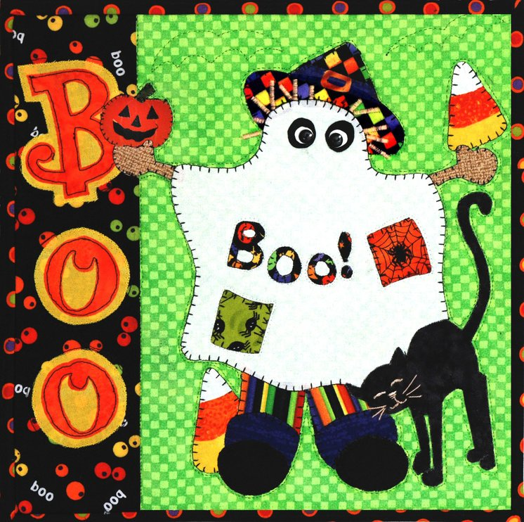 Boo!- Scarecrow Holiday Series