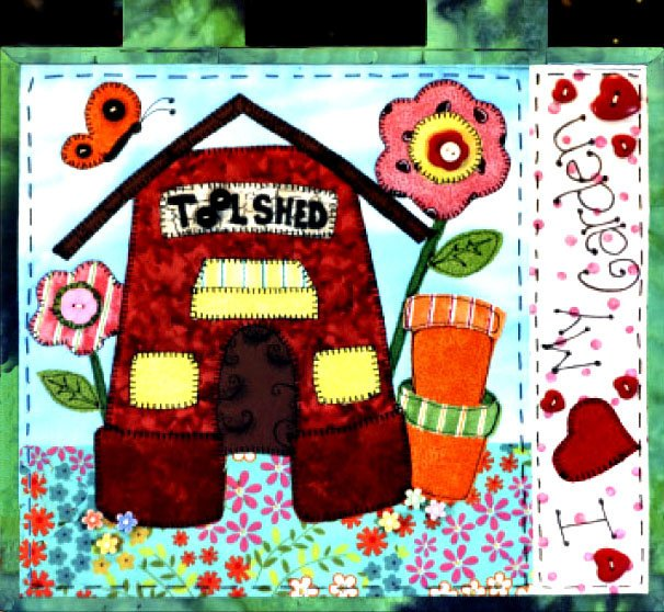 Tool Shed Free Downloadable E-Pattern