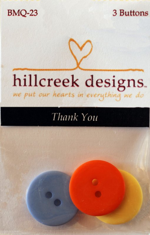 Button Pack for Thank You