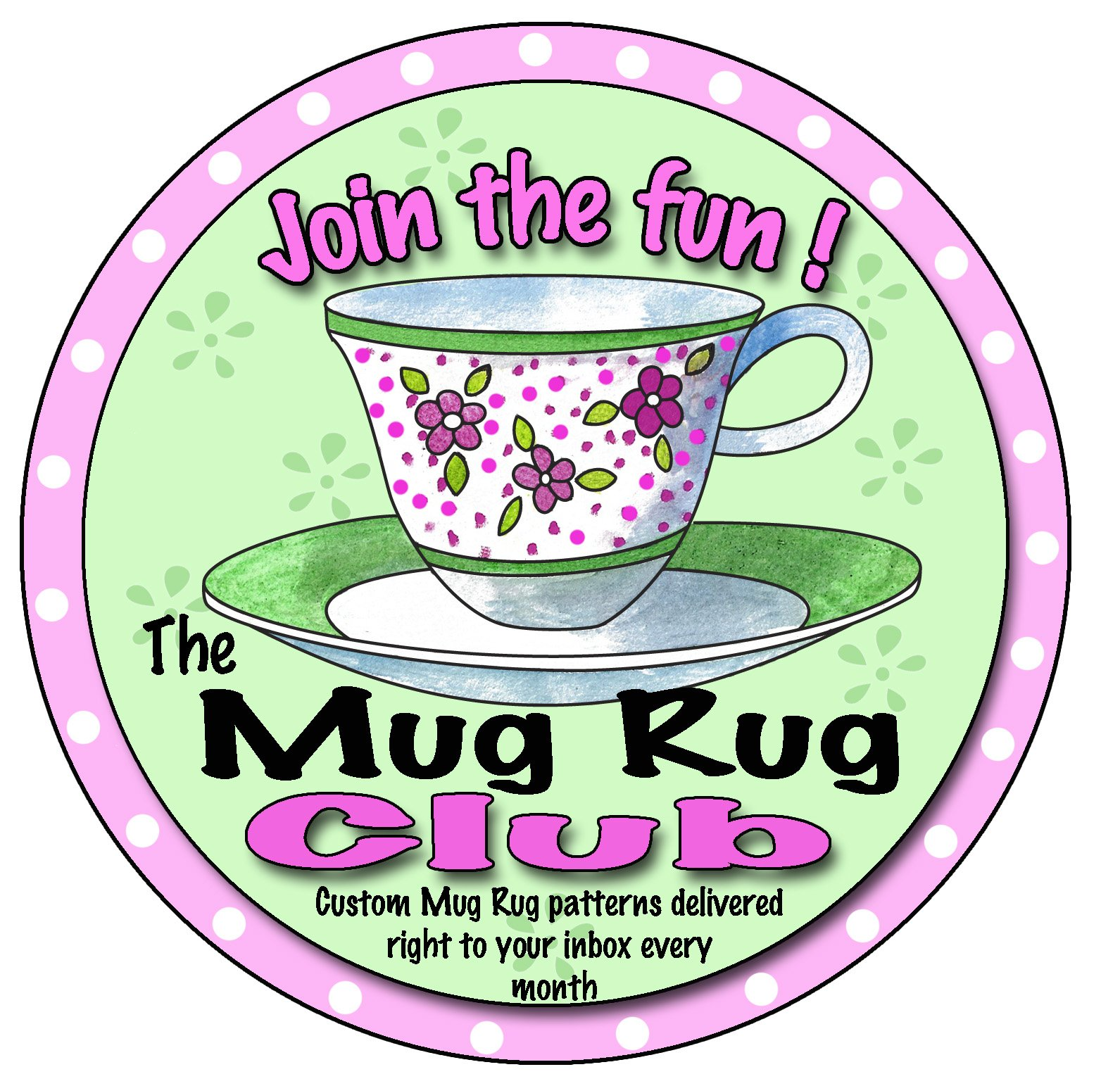 Desiree's ITH Mug Rug Club 2019