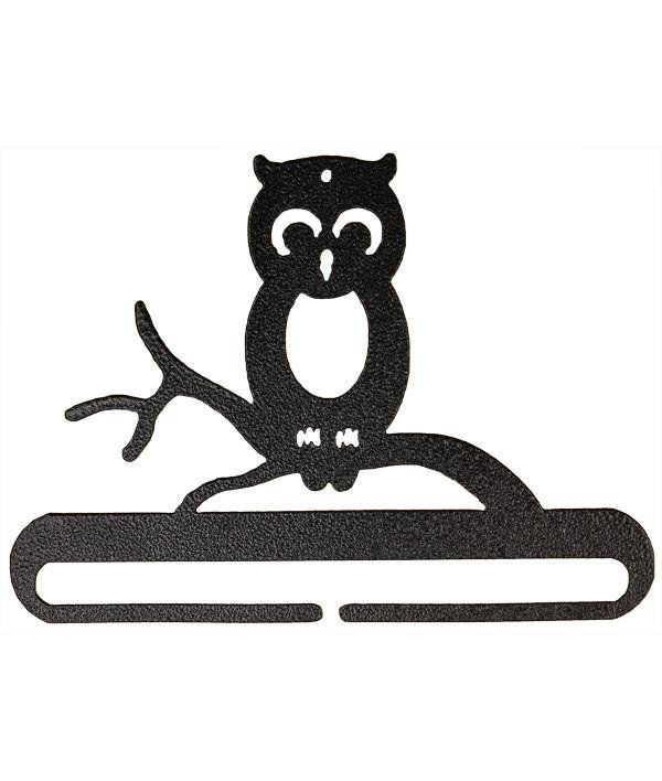 6 Owl Split Bottom Metal Hanger