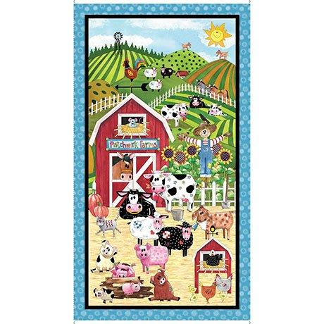 Patchwork Farms Panel - 26107-X