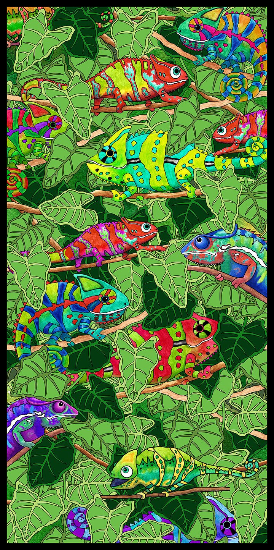 Color Me Chameleon CHAMELEON PANEL MULTI FA-27486-X