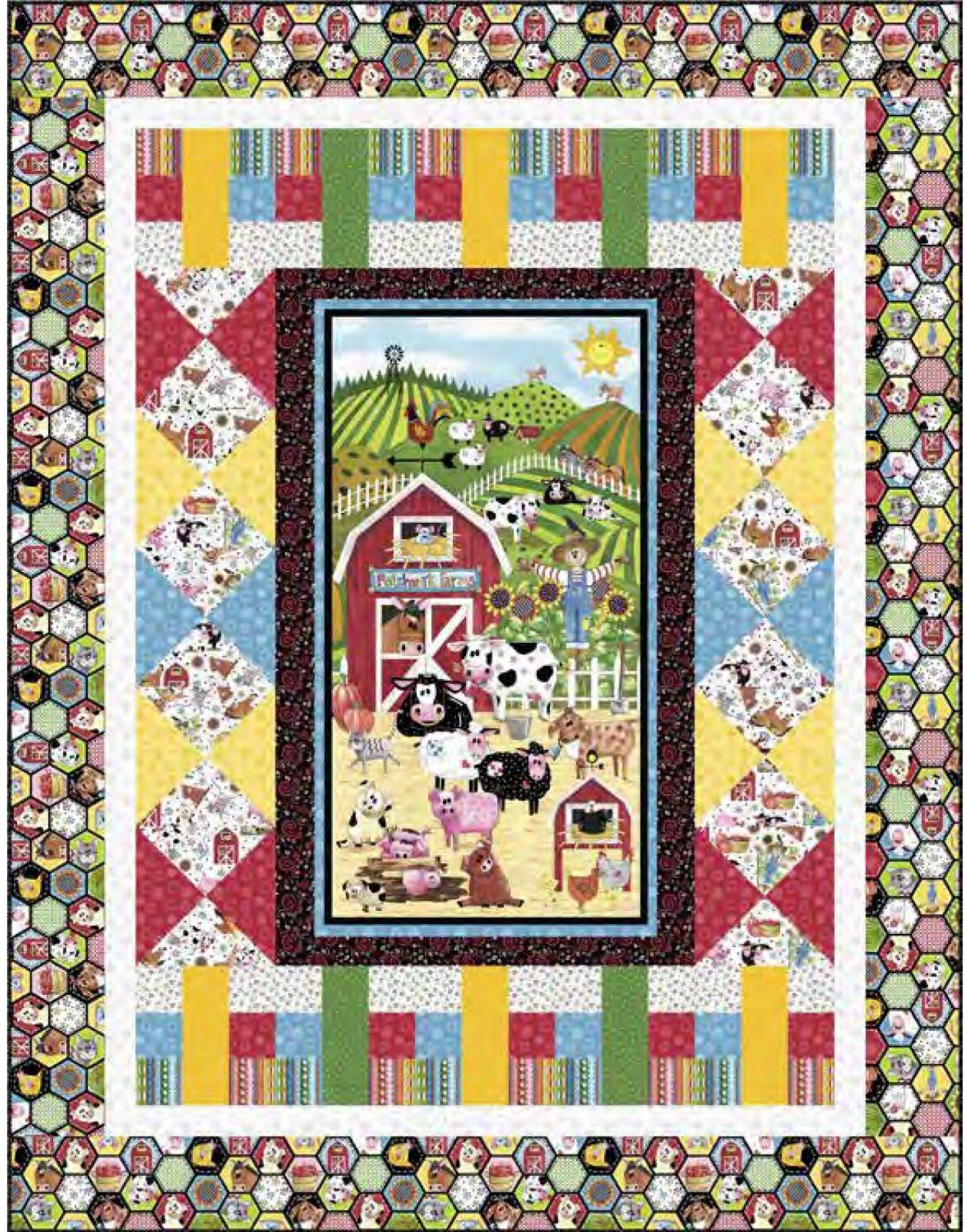 Patchwork Farms Free Downloadable Quilt