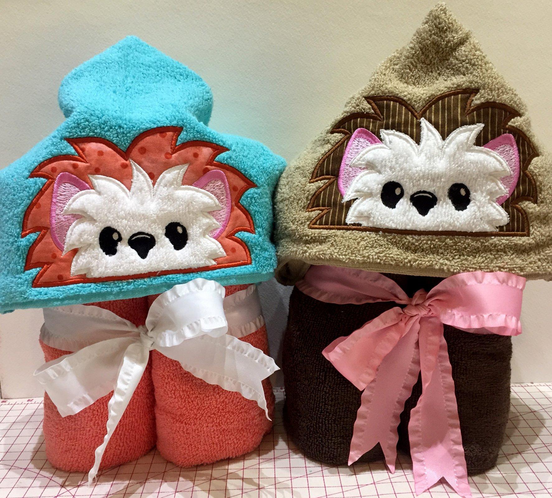 Hedgehog Hoodie Towel download