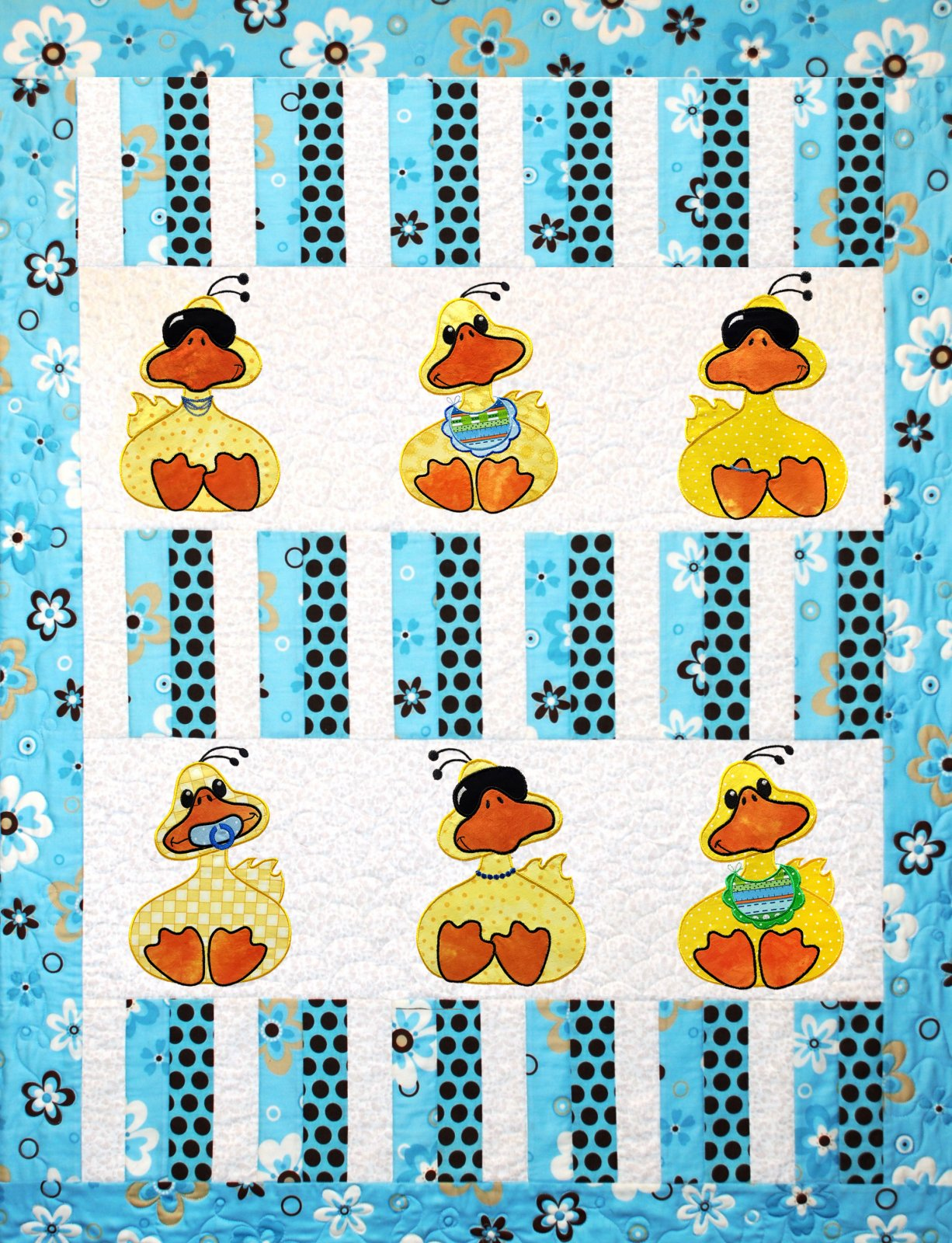 Just Ducky Applique Embroidery dowload