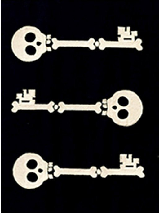 Skeleton Keys Downloadable Embroidery Files (HQH-02-E7)