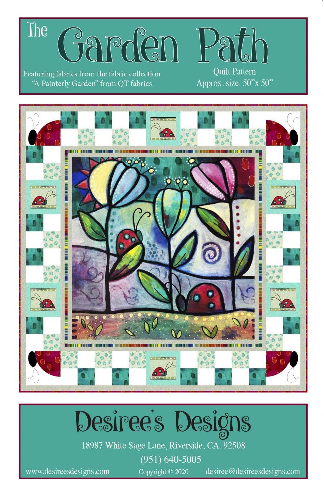 The Garden Path Quilt Pattern Kit!
